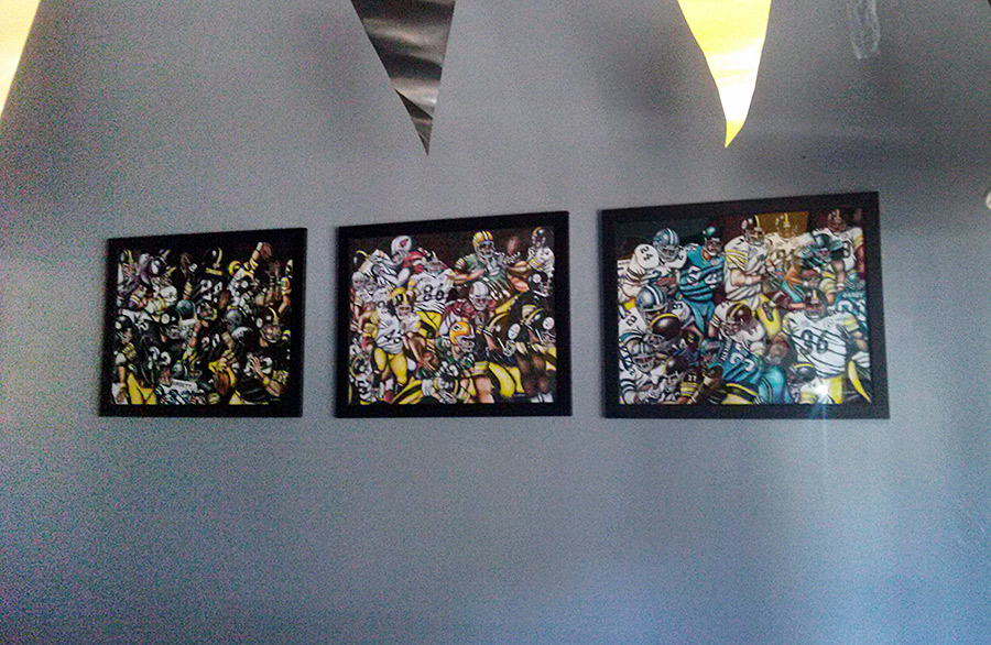 Risto's Place - Pittsburgh Paintings