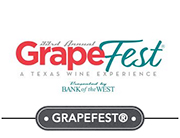 Thomas Jordan Gallery -- 33rd Annual GrapeFest - A Texas Wine Experience, September 12th - 15th, 2019