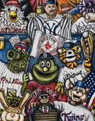 7th Inning Stretch -- Sports Painting