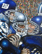 Giant Rush -- Sports Painting