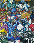 True Believers Sports Painting