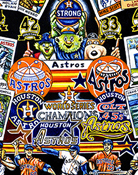 Houston Astros Tribute -- Sports Painting