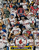 Boston Strong -- Sports Painting