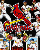 St. Louis Cardinals Tribute -- Sports Painting