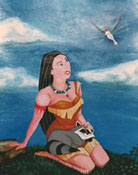 In Flight -- Painting