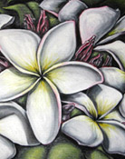 Hawaiian Floral -- Painting