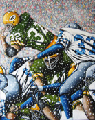 Frozen Tundra II -- Sports Painting