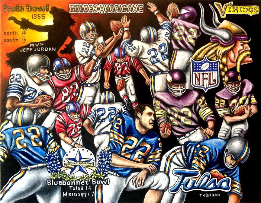 Jeff Jordan Tribute! -- Sports Painting