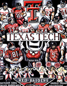 Texas Tech Red Raiders Tribute -- Sports Painting