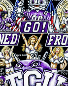 TCU Tribute -- Sports Painting