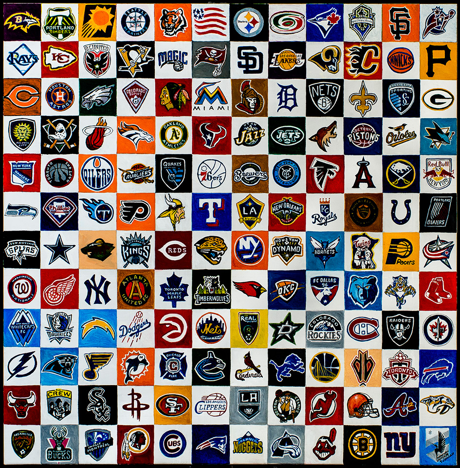Classic Sports Teams -- Painting