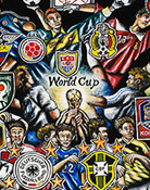 World Cup Soccer -- Sports Painting