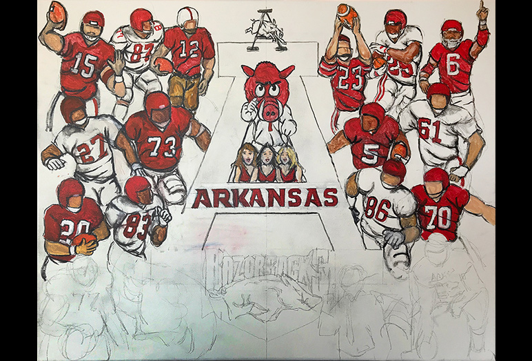 Thomas Jordan Gallery -- Arkansas Tribute
