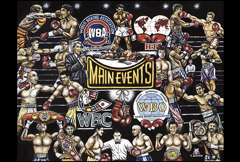 Thomas Jordan Gallery -- Main Events Boxing Tribute
