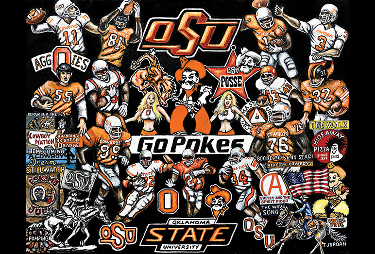 Thomas Jordan Gallery -- Oklahoma State Cowboys Tribute