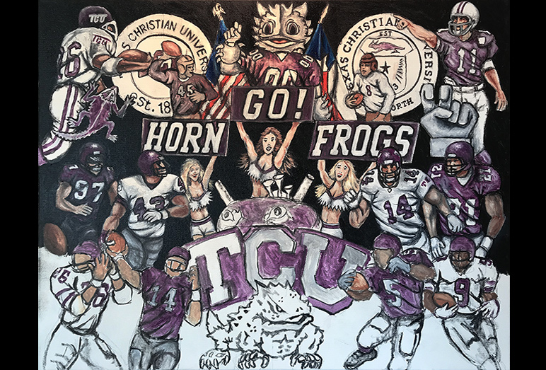 Thomas Jordan Gallery -- TCU Tribute