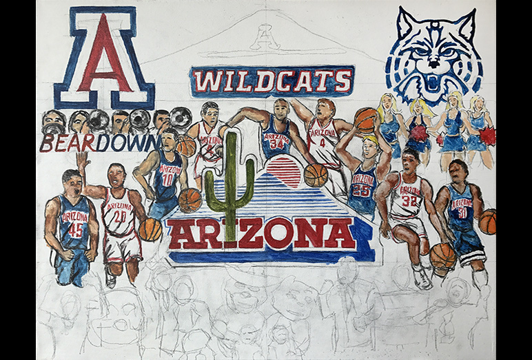 Thomas Jordan Gallery -- Arizona Wildcat Tribute