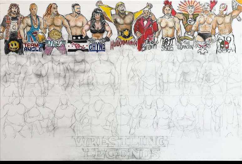 Thomas Jordan Gallery -- Wrestling Legends Tribute
