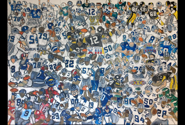 Thomas Jordan Gallery -- Dallas Cowboy's Tribute