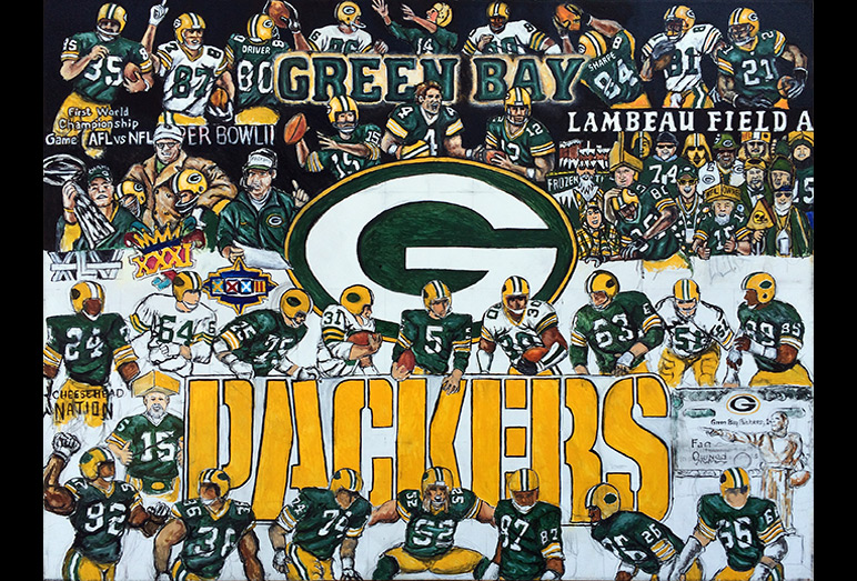 Thomas Jordan Gallery -- Packers Tribute