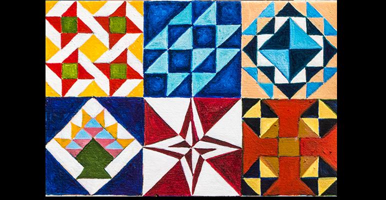Classic Entertainment Art Classic Quilt Blocks