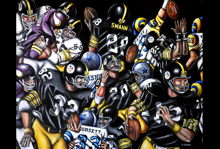 Steelers Canvas Painting