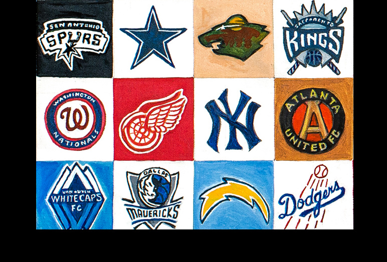 Thomas Jordan Gallery -- Classic Sports Teams