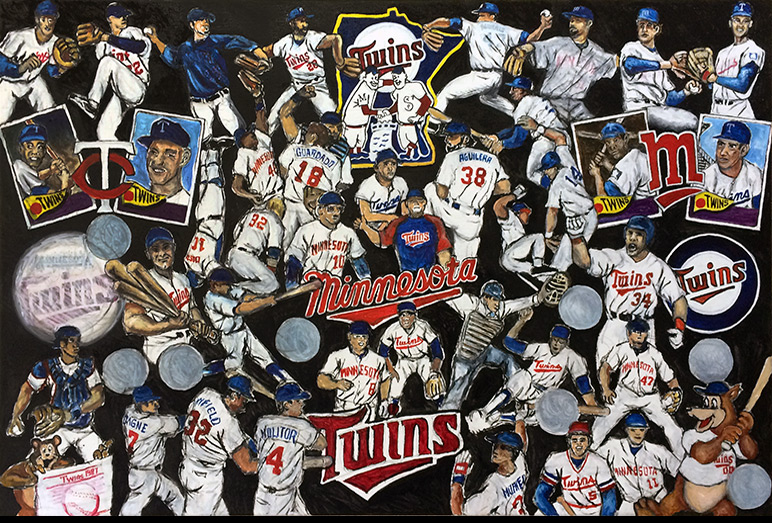 Thomas Jordan Gallery -- Twins Tribute