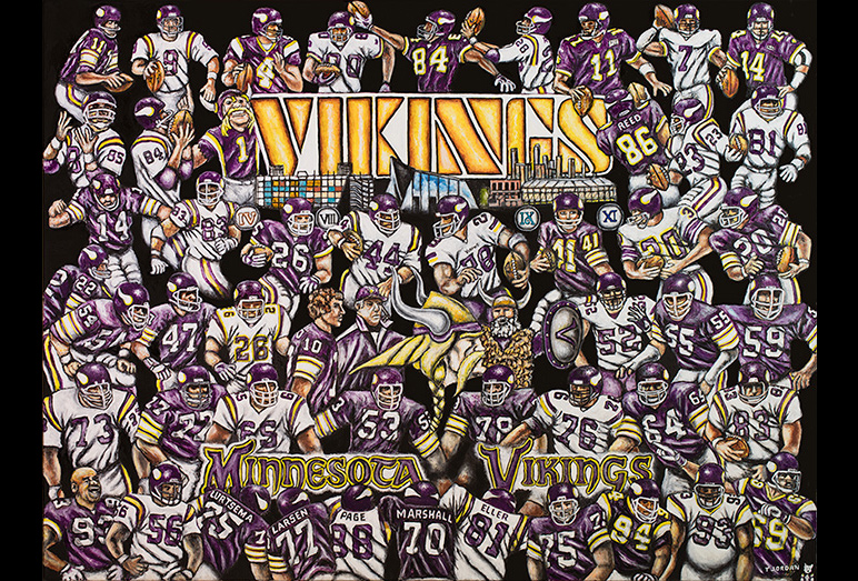 Thomas Jordan Gallery -- Vikings Tribute